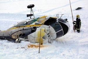 Nehoda vyzerala hrozivo, no našťastie sa nik nezranil.