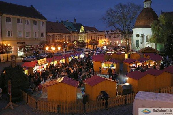 Vianočné trhy na Záhorí.
