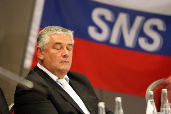 Jána Slotu som nemal nikdy rád, hovorí spoluzakladateľ SNS a jej súčasný poslanec Anton Hrnko.
