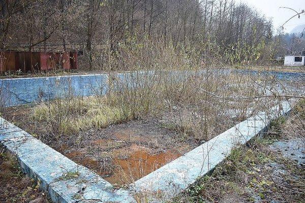Niekdajšie vyhlásené kúpalisko v Belušských Slatinách