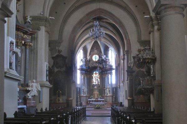 Františkánsky kostol.