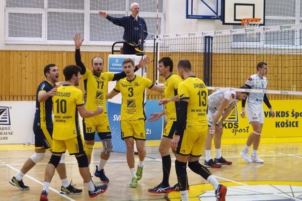 Košice zdolali Nitru hladko 3:0.