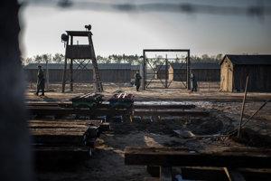 Areál filmového koncentračného tábora.