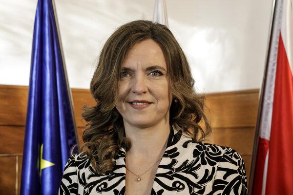 Nová starostka Starého mesta Zuzana Aufrichtová sa ujala funkcie.