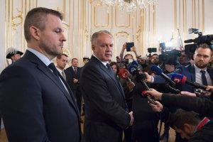 Andrej Kiska rozhodnutie o Lajčákovej demisii nepovedal.