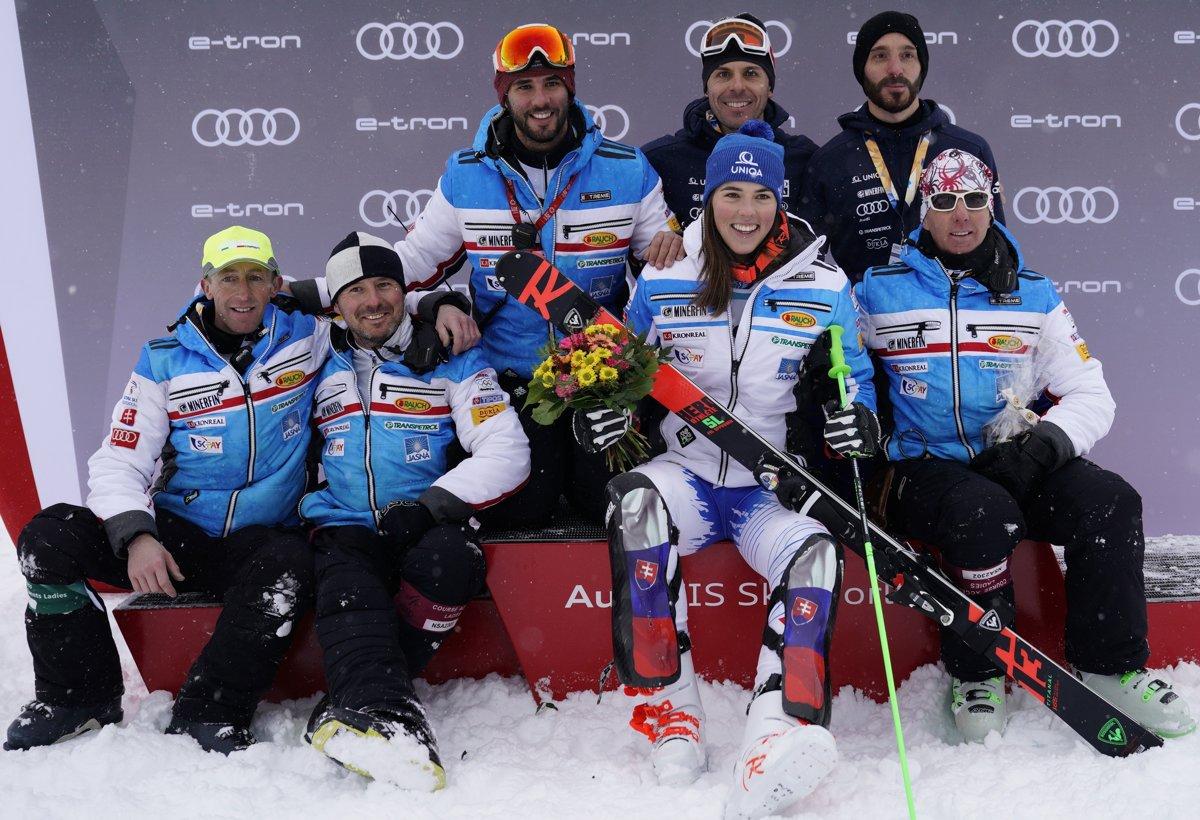 cc247ccf3 Petra Vlhová podala v paralelnom slalome v St. Moritzi kvalitný výkon.