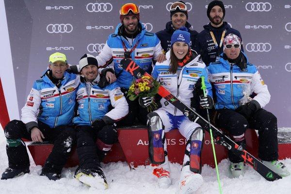 Petra Vlhová podala v paralelnom slalome v St. Moritzi kvalitný výkon.