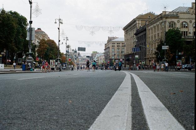 Hlavná tepna Kyjeva Chreščatyk