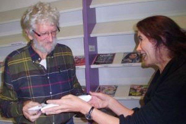 Eugen Gindl s poetkou Annou Ondrejkovou.