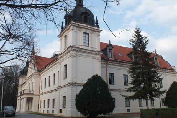 Kaštieľ Andrássyovcov, sídlo Múzea a Kultúrneho centra južného Zemplína.