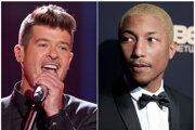 Thicke aj Pharrell si myslia, že rozsudok poškodil hudbu.