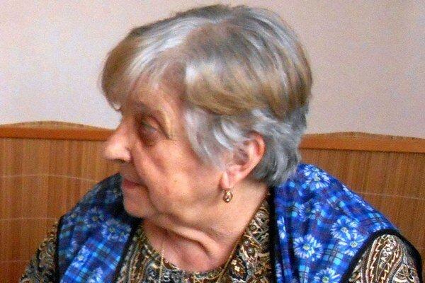 Ema Brosková bola počas okupácie mladučké dievča. Ani po sedemdesiatich rokoch nezabudla na hrôzy, ktoré prežila.