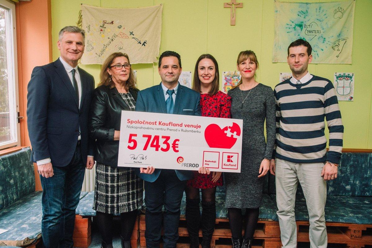 Kaufland daroval Nízkoprahovému centru Prerod 5 743 € - myliptov.sme.sk 84066762c10