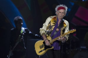 Keith Richards z Rolling Stones.
