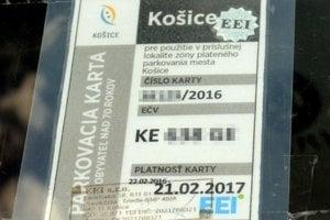 Ponuka na predĺženie platnosti parkovacích kariet zo strany EEI je podľa mesta v rozpore s VZN.