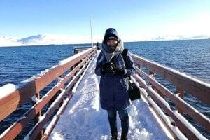 Dominika Knotková vo svojom voľnom čase veľa cestovala, prešla celý Island.
