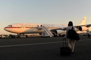 Nemecký vládny špeciál Airbus A340-300.