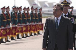 Ásif Alí Zardárí v roku 2011 ako prezident Pakistanu.