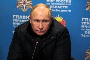 Ruský prezident Vladimir Putin v Magnitogorsku.