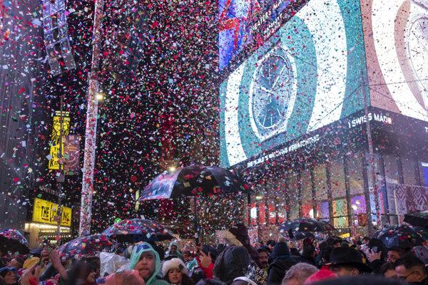 Oslavy v New Yorku.
