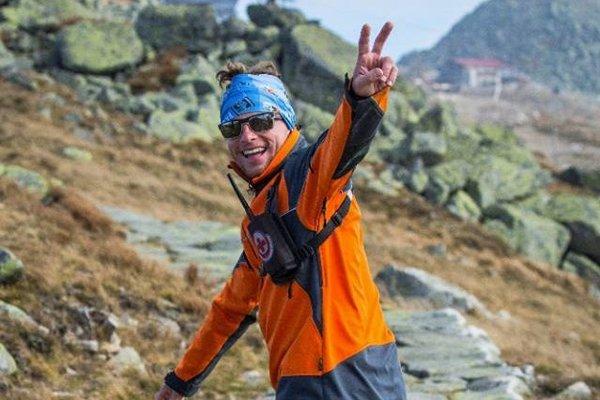 Michal je členom Horskej záchrannej služby.
