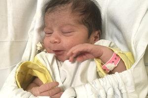 ERIKA Brandtová z Hokoviec prišla na svet 5. decembra rodičom Erike Brandtovej a Máriovi Somsimu. Prvorodená Erika po narodení merala 45 cm a vážila 2,3 kg.