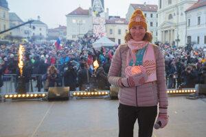 Zlatú Anastasiu Kuzminovú privítali Banskobystričania 1. marca vo veľko štýle.