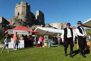 Oslavy 700. výročia prvej písomnej zmienky o Levickom hrade.
