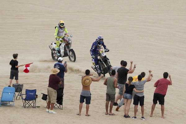 Momentka z Rely Dakar.