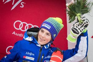 Petra Vlhová predvádzala a predvádza skvelé výkony.