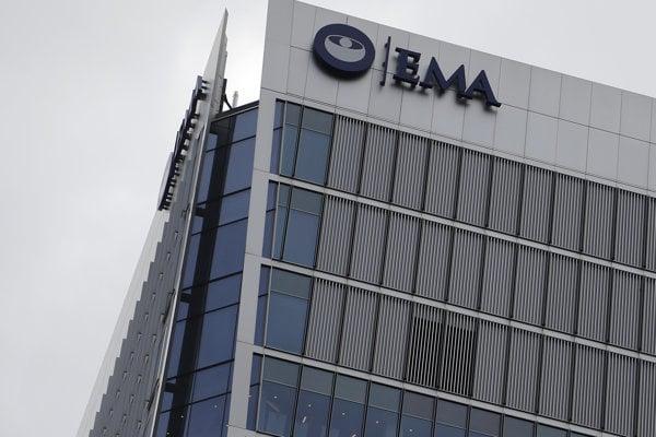 Sídlo Európskej liekovej agentúry (EMA) v Londýne.