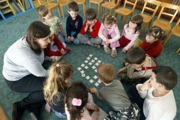 Rodičia majú záujem o umiestnenie detí do zariadení so špecifickým zameraním.