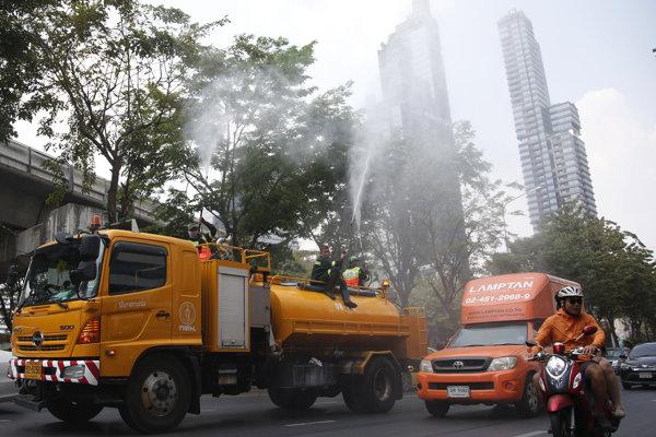 Znečistené ovzdušie dosiahlo zdraviu škodlivú úroveň.
