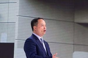 Prezident čínskej automobilky GAC Yu Jun.