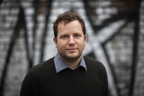 Matthieu Darras. Francúzsky filmový kritik žije v Bratislave.