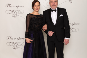 Maťo Landl s manželkou Janou.