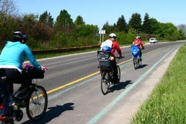 Cykloturistika v turistickom regióne dostáva ranu pod pás. Vybudovaných cyklotrás je žalostne málo a sú krátke.