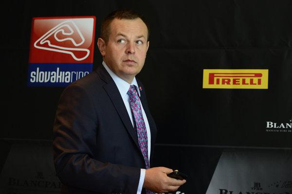 Výkonný riaditeľ Slovakia Ringu a člen dozornej rady firmy Window Glass Pavel Čulík.