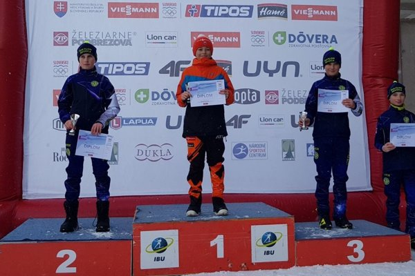 Sebastián Belicaj (v oranžovom) vyhral v sobotu i nedeľu.