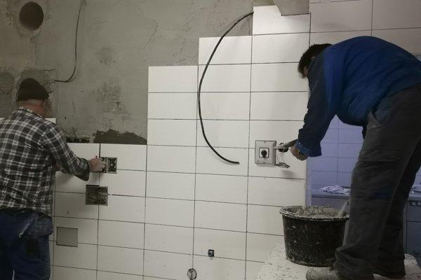 Rekonštrukcia kuchyne v Dome kultúry v Spišskom Hrhove.