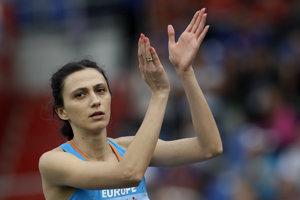 V skupine športovcov, ktorej štart povolili, je aj výškarská šampiónka Marija Lasickiené.