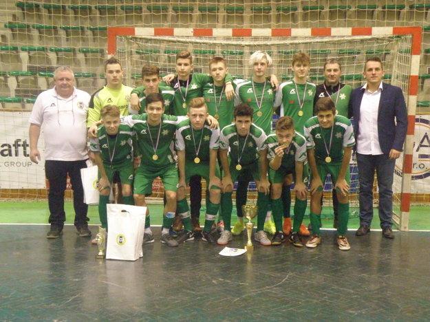 Víťazné družstvo FKM Nové Zámky U17