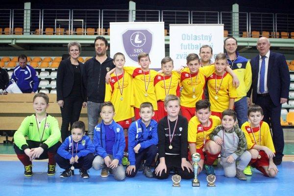 Víťazom turnaja sa stali nádeje ŠK Nevidzany.
