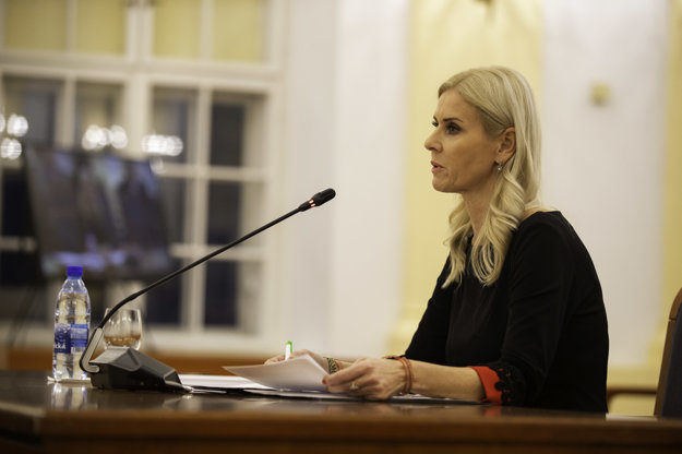 Štátna tajomníčka ministerstva spravodlivosti Monika Jankovská.