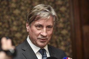 Na snímke novovymenovaný generálny riaditeľ Slovenského národného divadla (SND) Vladimír Antala.