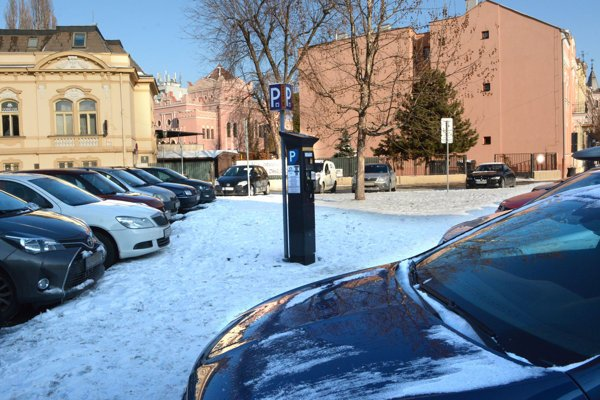 Parkomaty by malo získať mesto.