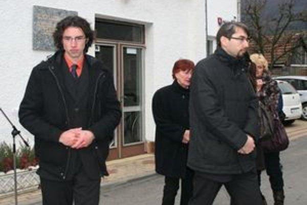 Na pietnu spomienku prišli aj príbuzní Tomáša Chovana.