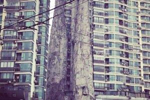 Zvláštna rezidenčná budova v Šanghaji