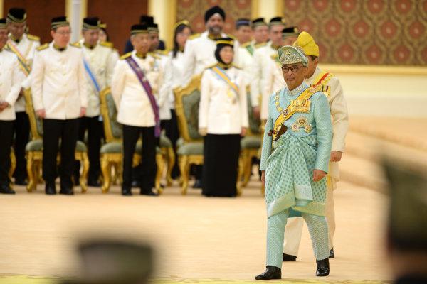 Sultán Abdullah Sultan Ahmad Shah.