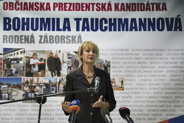 Bohumila Tauchmannová.